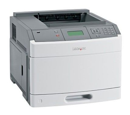 Принтер LEXMARK T650n лазерный, цвет:  серый [30g0125]