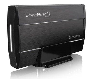 Внешний корпус для  HDD THERMALTAKE Silver River II ST0017E, черный