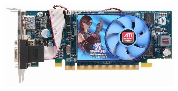 Видеокарта SAPPHIRE Radeon HD 3650,  1Гб, DDR2, oem [11127-xx-10r]