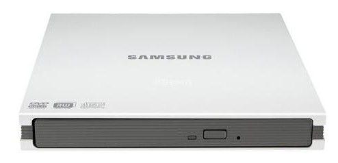 Оптический привод DVD-RW SAMSUNG SE-S084C/RSWN, внешний, USB, белый,  Ret