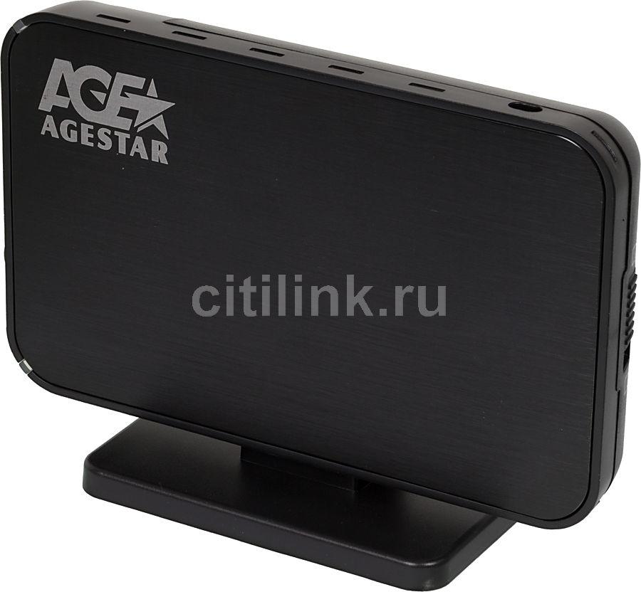 Внешний корпус для  HDD AGESTAR SUB3A8, черный