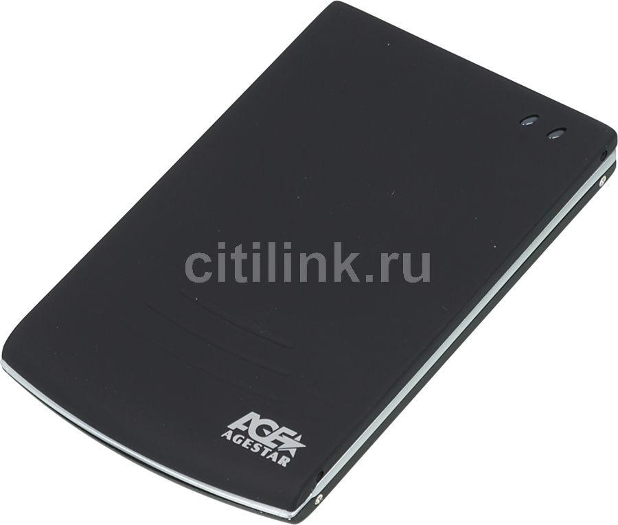 Внешний корпус для  HDD AGESTAR SUB2O5, черный