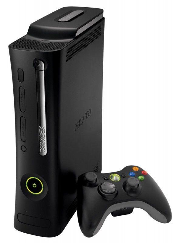 Игровая консоль MICROSOFT Xbox 360 Elite, черный