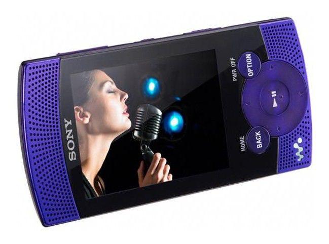 MP3 плеер SONY NWZ-S545V flash 16Гб фиолетовый [nwzs545v]