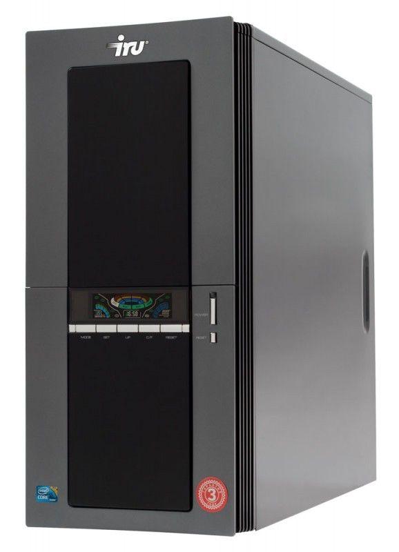 IRU Brava Home 126W,  Intel  Core2 Quad  Q9400,  DDR2 4Гб, 1Тб,  nVIDIA GeForce 9800 GT - 512 Мб,  DVD-RW,  CR,  Windows 7 Home Premium,  черный