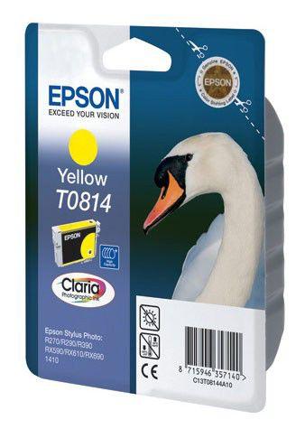 Картридж EPSON T0814 желтый [c13t11144a10]
