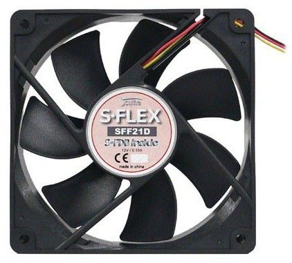 Вентилятор для корпуса Scythe S-FLEX_SFF21_G 120 х 120 х 25мм