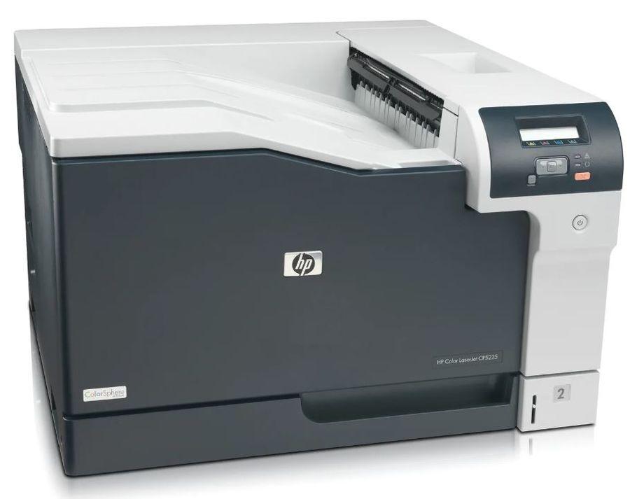 Принтер лазерный HP Color LaserJet Pro CP5225N лазерный, цвет:  серый [ce711a]