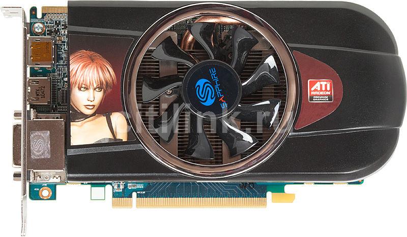 Видеокарта SAPPHIRE Radeon HD 5770,  1Гб, GDDR5, oem [21163-xx-10r]