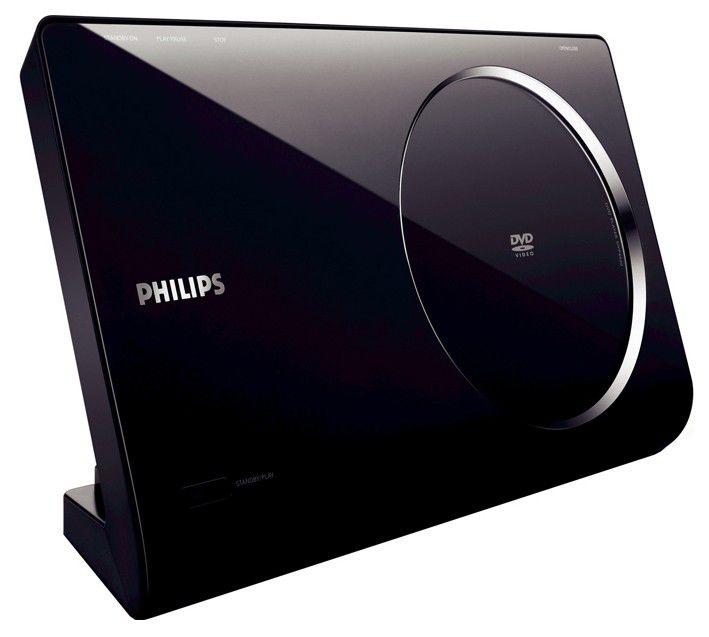 DVD-плеер PHILIPS DVP6620/12,  черный,  настенное крепление