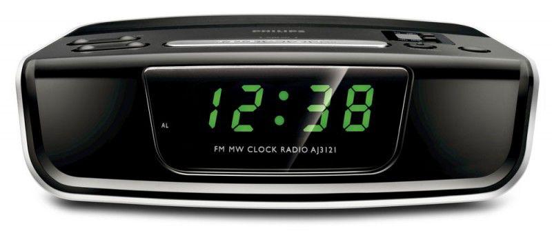 Радиобудильник PHILIPS AJ3121, черный