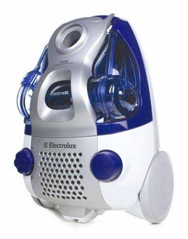 Пылесос ELECTROLUX ZCX6460, 2100Вт, серый/синий