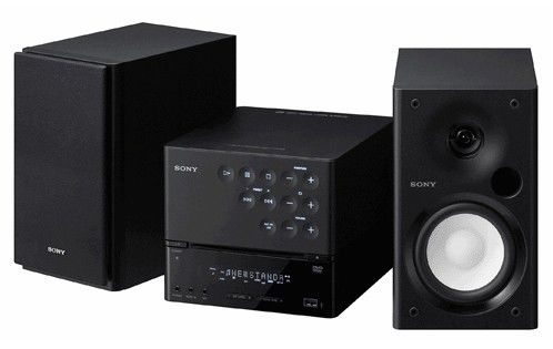 Музыкальный центр SONY CMT-DH50R,  черный