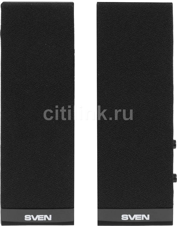 Колонки SVEN 230,  черный [sv-0110230bk]