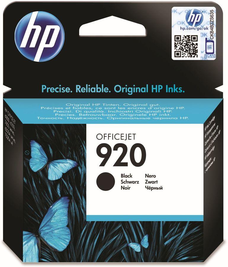 Картридж HP 920 черный [cd971ae]