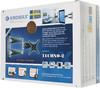 """Кронштейн для телевизора Kromax TECHNO-2 серебристый 10""""-26"""" макс.15кг настенный поворот и наклон [20071] вид 10"""
