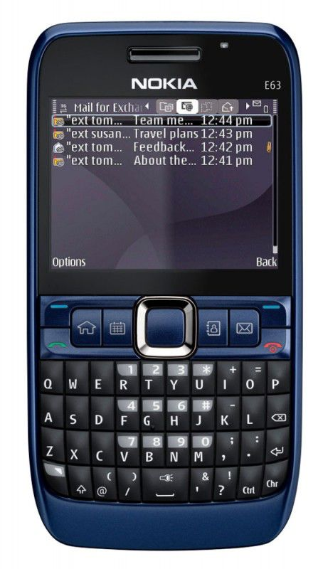 Смартфон NOKIA E63,  синий
