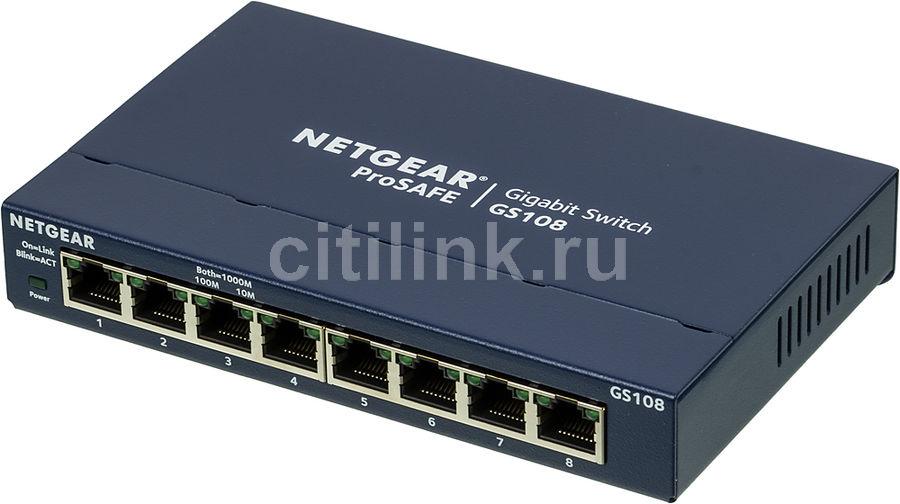 Коммутатор NETGEAR GS108GE