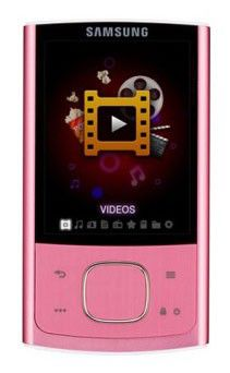 MP3 плеер SAMSUNG YP-R0CP flash 8Гб розовый [yp-r0cp/xer]