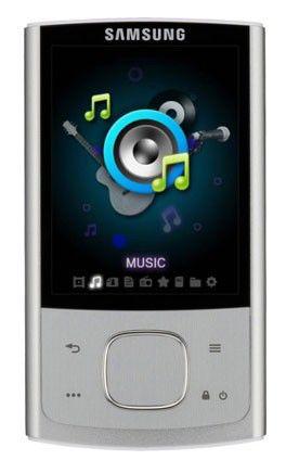MP3 плеер SAMSUNG YP-R0CS flash 8Гб серебристый [yp-r0cs/xer]