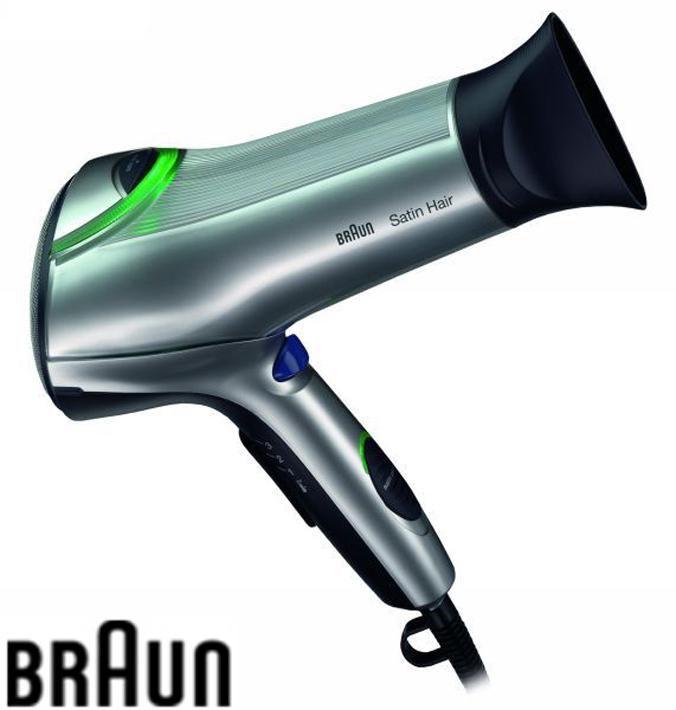 Фен BRAUN SPI 2200, 2200Вт, серебристый