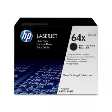Двойная упаковка картриджей HP - черный / черный