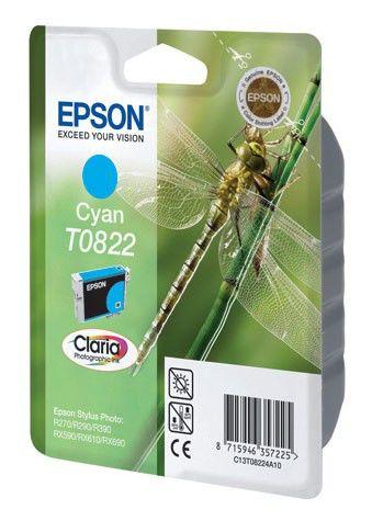 Картридж EPSON T0822 голубой [c13t11224a10]