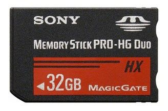 Карта памяти Memory Stick Pro HG Duo SONY 32 ГБ, MSHX32G,  1 шт.