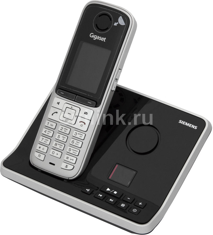 Радиотелефон GIGASET S795,  серый металлик