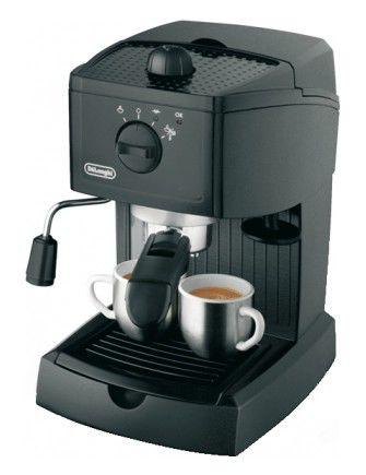 Кофеварка DELONGHI EC145,  эспрессо,  черный