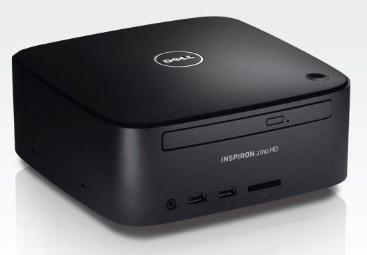 Неттоп  DELL Inspiron Zino,  AMD  Athlon  2850E,  DDR2 2Гб, 320Гб,  ATI Radeon HD 3200,  DVD-RW,  Windows 7 Starter,  черный [210-30516]
