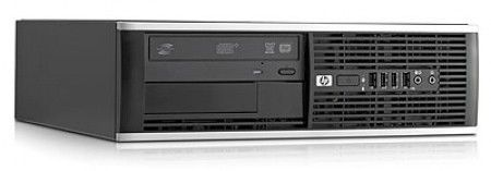 Компьютер  HP Pro 6000SFF,  Intel  Core2 Quad  Q8400,  DDR3 4Гб, 500Гб,  Intel GMA X4500,  DVD-RW,  Windows 7 Professional,  черный [wk075ea]