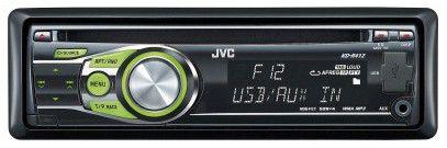 Автомагнитола JVC KD-R412,  USB