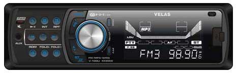 Автомагнитола VELAS V-100U,  USB,  SD