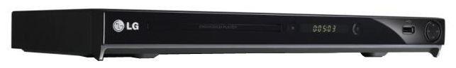 DVD-плеер LG DVX-552,  черный