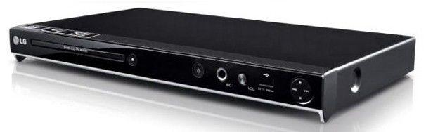 DVD-плеер LG DVX-556K,  черный,  диск 200 песен