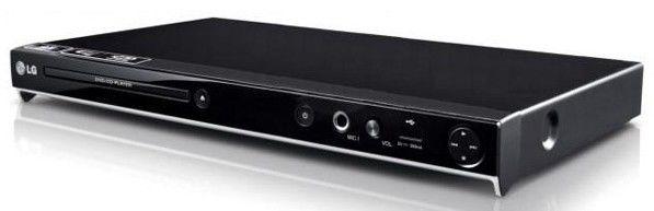 DVD-плеер LG DVX-556KH,  черный,  диск 200 песен