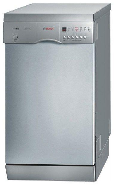 Посудомоечная машина BOSCH SRS46T28EU,  узкая, серебристая