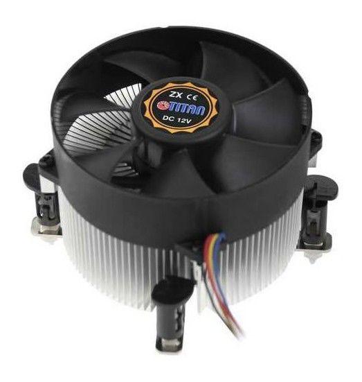 Устройство охлаждения(кулер) TITAN TTC-NA01TZ/RPW/CU30,  95мм, Ret