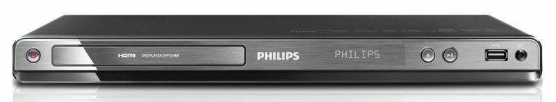 DVD-плеер PHILIPS DVP3586K/51,  черный