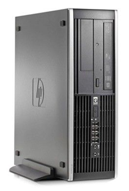 HP Elite 8000,  Intel  Core2 Duo  E8500,  DDR3 2Гб, 320Гб,  Intel GMA X4500,  DVD-RW,  Windows 7 Professional,  черный [wu029ea]