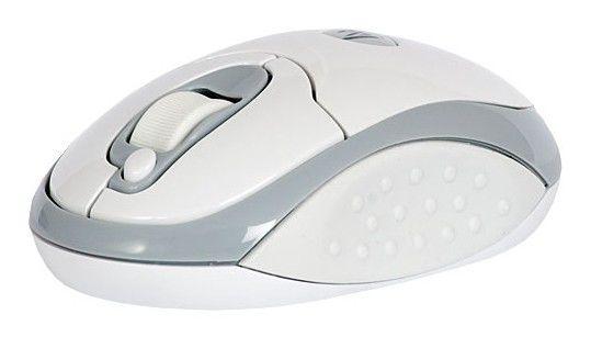 Мышь A4 G7-200-2 оптическая беспроводная USB, белый