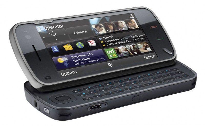 Смартфон NOKIA Navi N97-1  черный