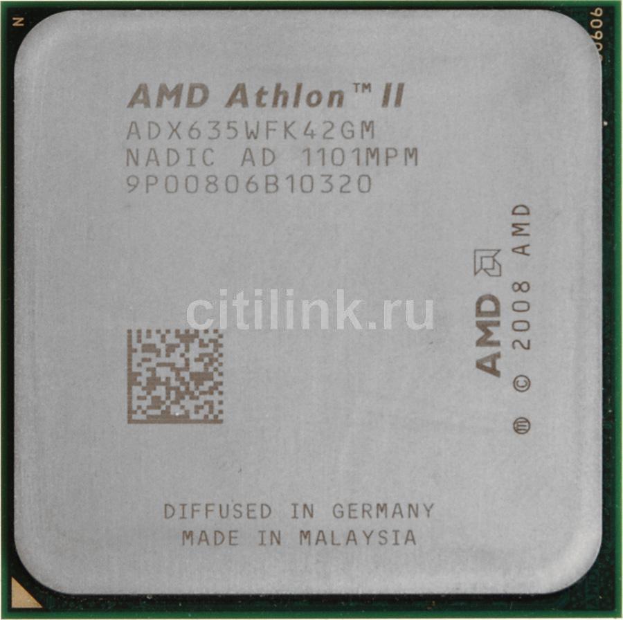 Процессор AMD Athlon II X4 635, SocketAM3 OEM [adx635wfk42gi]