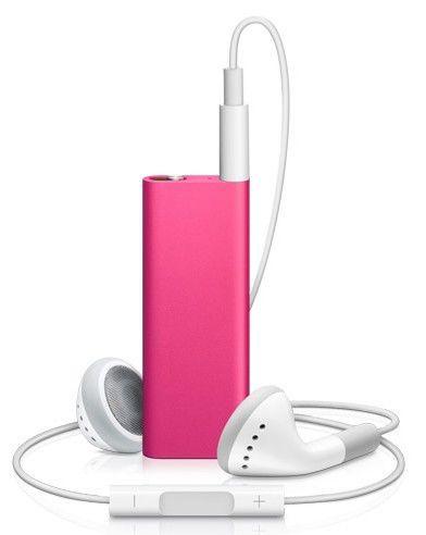 MP3 плеер APPLE iPod Shuffle flash 4Гб розовый [mc331]