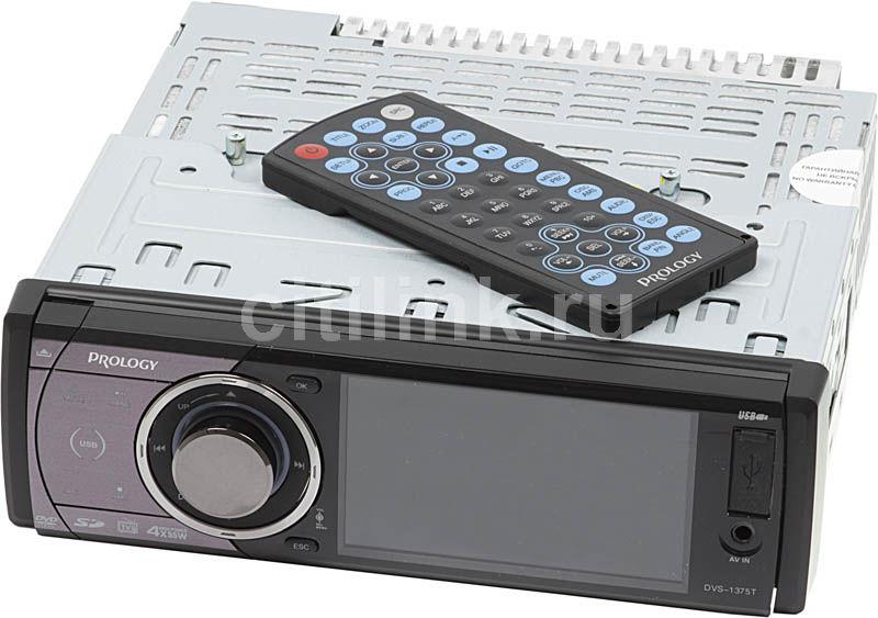 Автомагнитола PROLOGY DVS-1375T,  USB,  SD