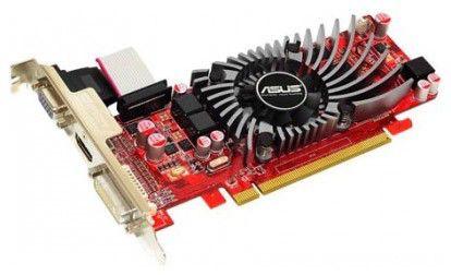 Видеокарта ASUS Radeon HD 5550,  1Гб, DDR3, Ret [eah5550/di/1gd3(lp)]
