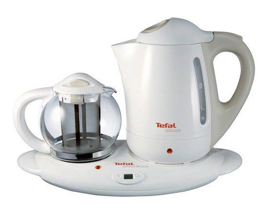 Чайный набор TEFAL BK2630, 2200Вт, белый