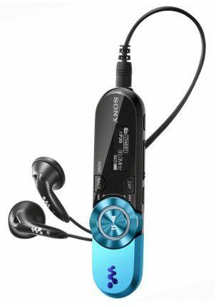 MP3 плеер SONY NWZ-B153F flash 4Гб голубой [nwzb153f]