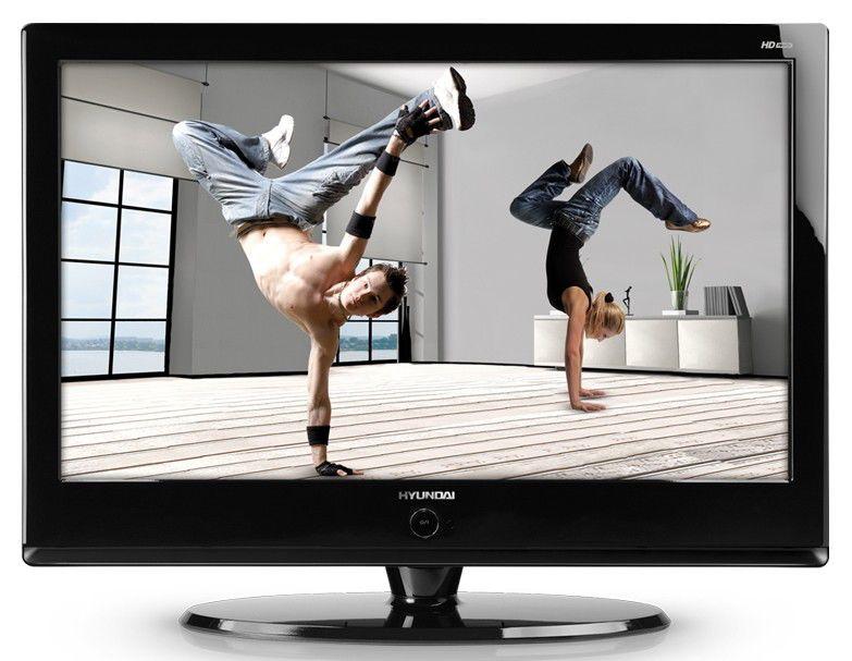 "Телевизор ЖК HYUNDAI H-LCDVD3200  ""R"", 32"", HD READY (720p),  c DVD плеером,  черный"